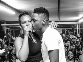 Zodwa and bae / Instagram