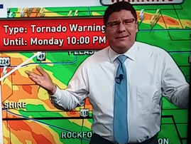 Meteorologist lashes out at viewers