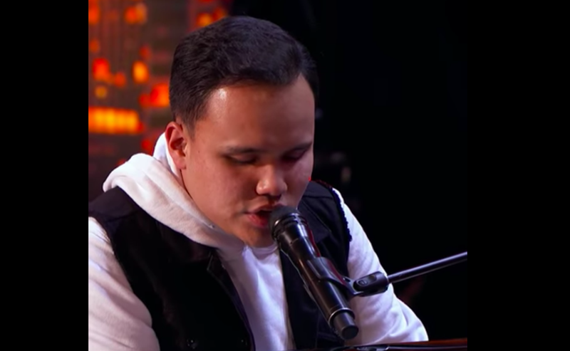 Blind autistic singer wows the world with performance