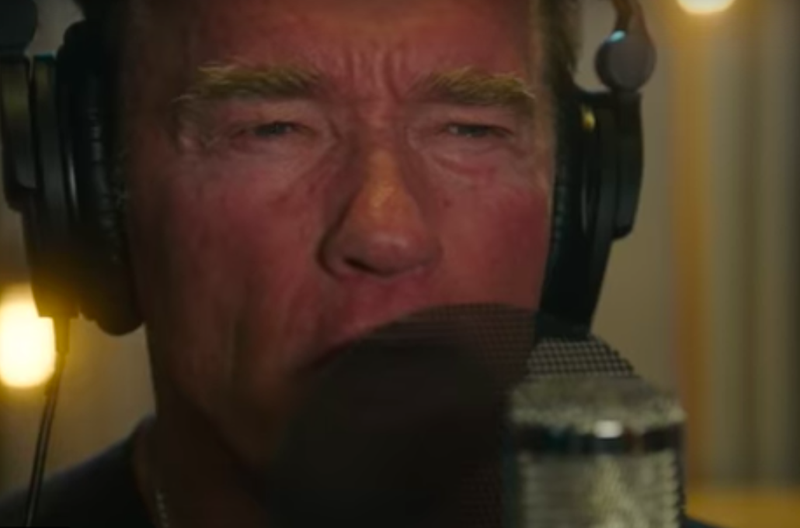 Is Arnold Schwarzenegger the newest rapper?