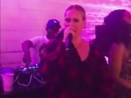 Adele rapping