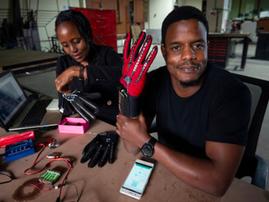 Kenyan man earns global recognition after smart glove innovation
