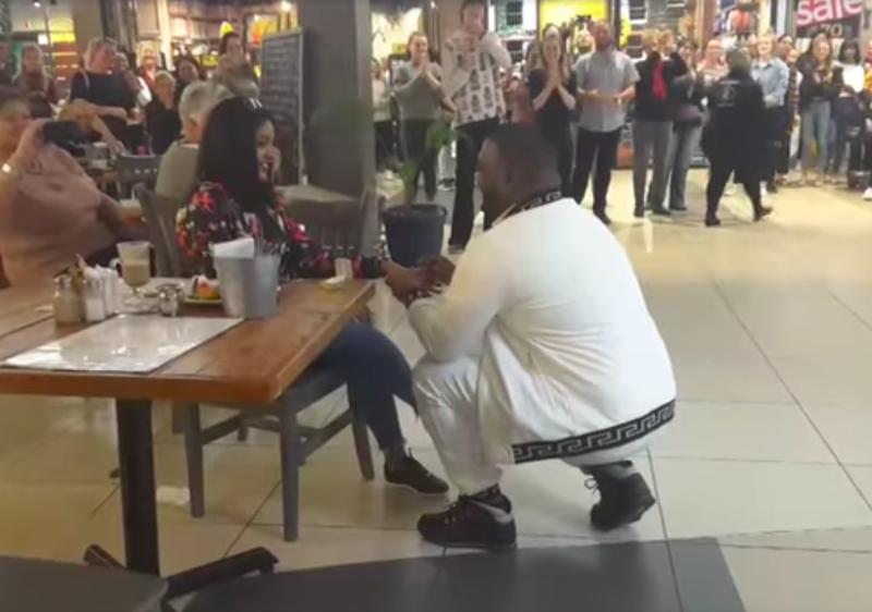 Engagement In Mall