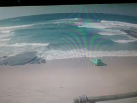 Man drives car into KZN sea after friend 'dares' him to
