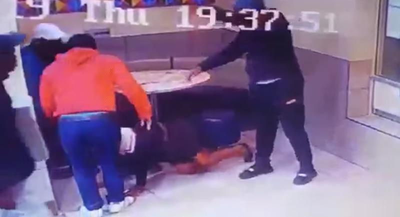 Robbery at McDonald's