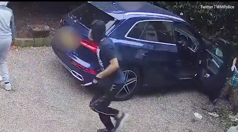 Woman fights off hijackers