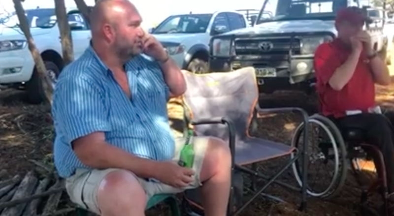 Man drinks with friends and lie to wife