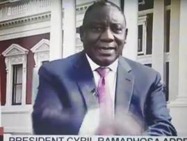 Cyril Ramaphosa Makes Mistake