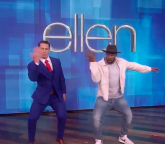 John Cena dances to Sho Madjozi's track on 'The Ellen DeGeneres Show'