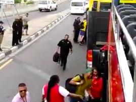 Springboks Tour Bus Broke Down in Cape Town