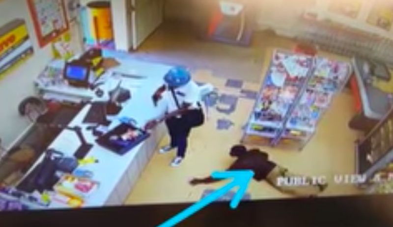 Robbery within robbery