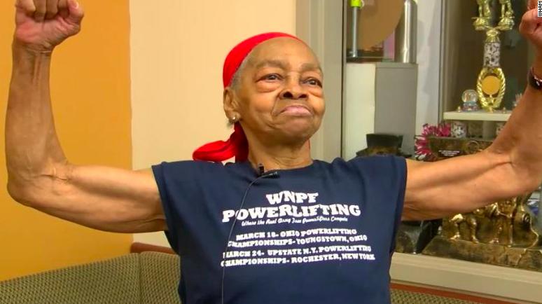 82-year-old bodybuilder