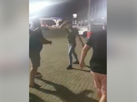 Fight at McDonald's