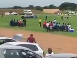 Man Drove Onto Soccer Pitch