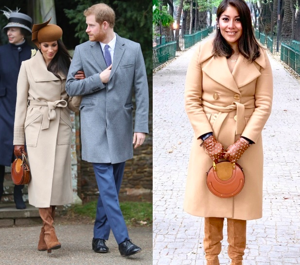 Super-fan dresses like Meghan Markle