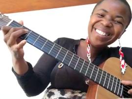 Zolani Mahola live