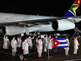Cuban medical brigade