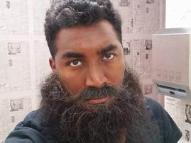 Emo Adams beard