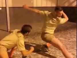 Amanikiniki dance challenge