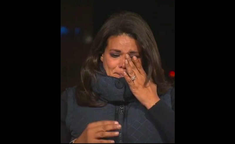 CNN Reporter Sara Sidner Breaks Down In Tears During Covid Reporting