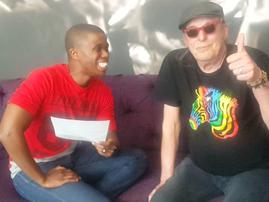 Anton Goosen with Thabiso Khambule