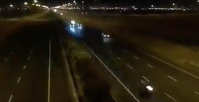 Car crash in Cape Town