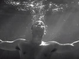 John Legend underwater