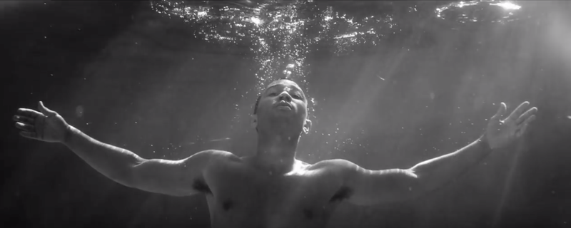 John Legend underwater