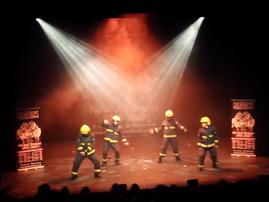 Fireman routine
