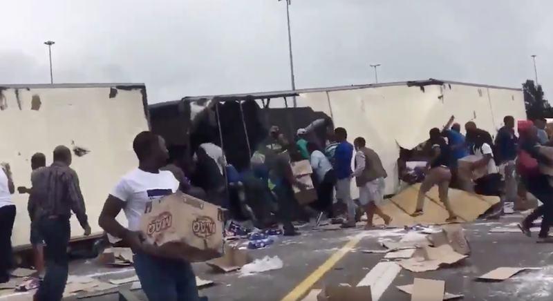 Looting on the N1