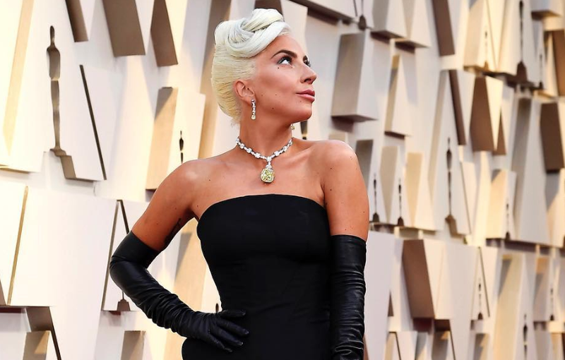 4d5ef5ed8 The diamond necklace Lady Gaga wore at the Oscars has South African ...