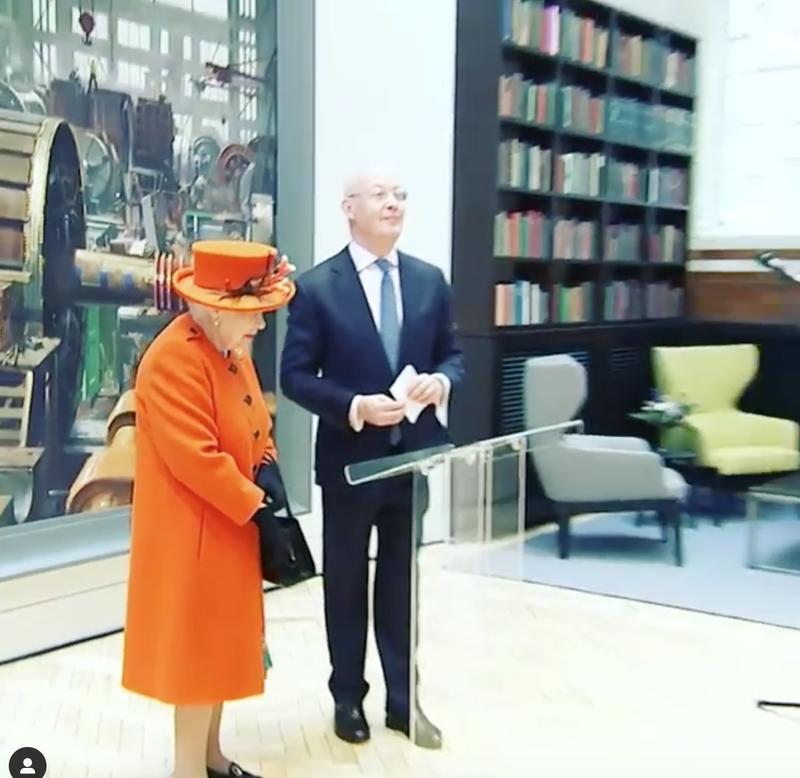 The Queen Instagram