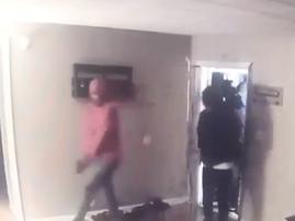 Burglars flee amid wild shootout with homeowner