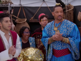 James Corden joins Will Smith's Genie in 'Aladdin' crosswalk musical