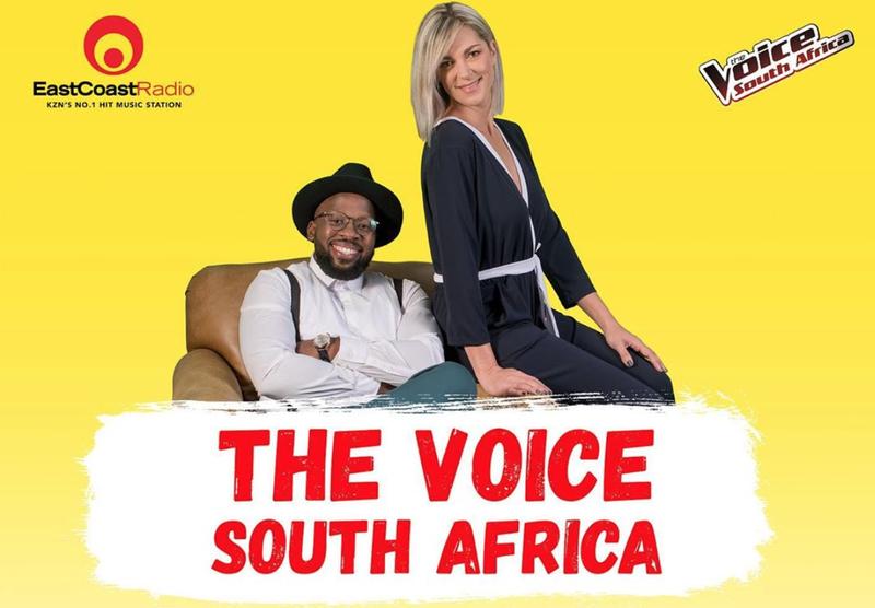 Bongani and Mags on The Voice SA
