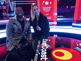 Bongani and Mags on The Voice SA / Instagram