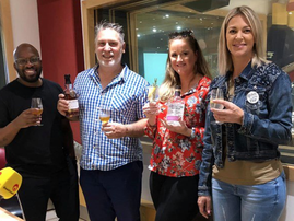 Whisky and gin tastings in studio