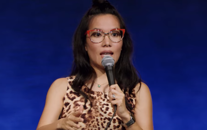 Comedian Ali Wong on stage / YouTube