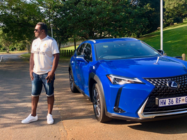 Deon and the Lexus UX 250h