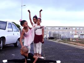17 little ballerinas transcend into a world of stillness.