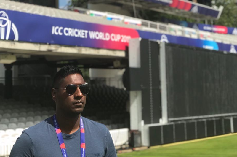 Myron at the ICC Cricket World Cup / Supplied