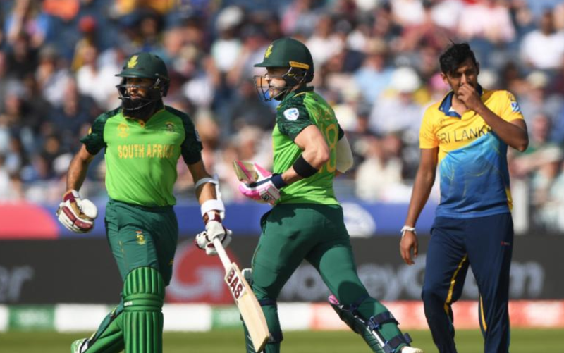 South Africa vs Sri Lanka / Twitter (Cricket World Cup)