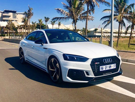 The Audi RS5 Sportback / Deon Govender