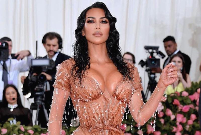 Kim Kardashian at the MET BALL 2019 / Instagram