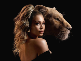 Beyonce in the Lion King / Instagram
