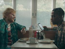 Ed Sheeran & Travis Scott / YouTube