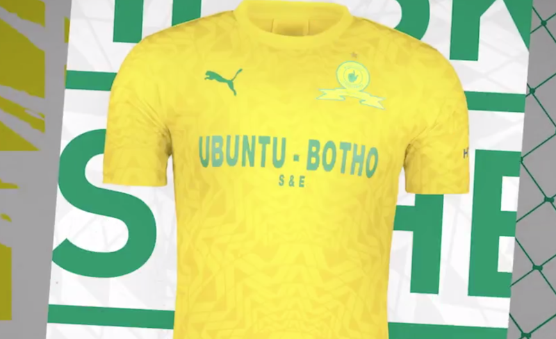 Mamelodi Sundowns FC 2019/2020 Home & Away kit / Twitter