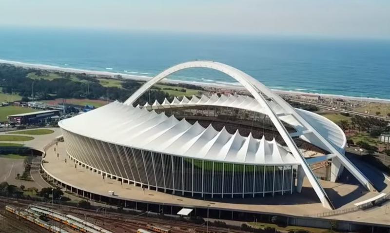 Drone footage of the Moses Mabhida Stadium / YouTube (Rakesh Morar)