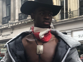 Lil Nas with cowboy hat / Instagram