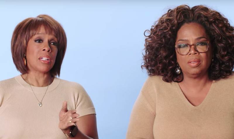 Oprah and her BFF Gayle King / YouTube